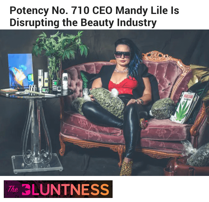 Potency No. 710 CEO Mandy Lile Is Disrupting the Beauty Industry